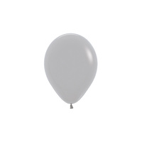 12cm Fashion Grey (081) Sempertex Latex Balloons #206378 - Pack of 100